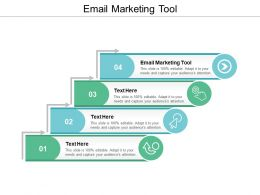 Email Marketing Tool Ppt Powerpoint Presentation Icon Example Cpb