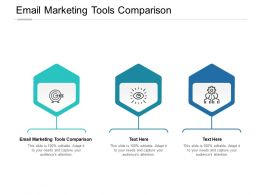 Email Marketing Tools Comparison Ppt Powerpoint Presentation Layouts Cpb