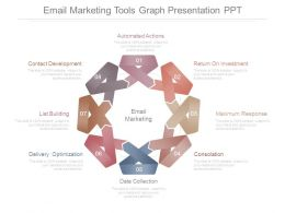 Email Marketing Tools Graph Presentation Ppt