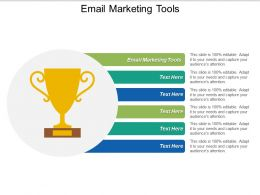 Email Marketing Tools Ppt Powerpoint Presentation Summary Show Cpb