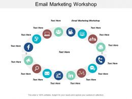 Email Marketing Workshop Ppt Powerpoint Presentation Gallery Demonstration Cpb