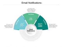 Email Notifications Ppt Powerpoint Presentation Infographic Template Show Cpb