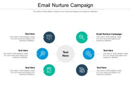 Email Nurture Campaign Ppt Powerpoint Presentation File Icon Cpb