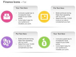 Email Price Safe Currencies Dollar Bag Ppt Icons Graphics