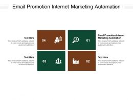 Email Promotion Internet Marketing Automation Ppt Powerpoint Presentation Icon Aids Cpb