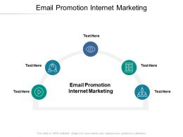 Email Promotion Internet Marketing Ppt Powerpoint Presentation Ideas Outline Cpb