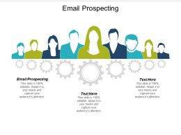 Email Prospecting Ppt Powerpoint Presentation Icon Graphics Template Cpb