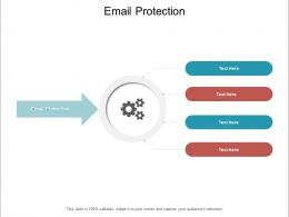Email Protection Ppt Powerpoint Presentation Gallery Grid Cpb