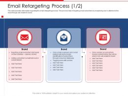 Email Retargeting Process Network Users Powerpoint Presentation Outfit