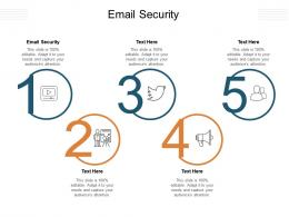 Email Security Ppt Powerpoint Presentation Show Guide Cpb