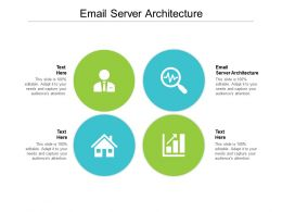 Email Server Architecture Ppt Powerpoint Presentation Gallery Designs Download Cpb