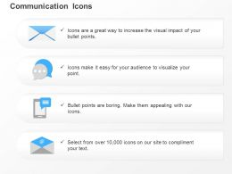 Email Speech Bubbles Mobile Message Envelope Ppt Icons Graphics