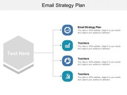 Email Strategy Plan Ppt Powerpoint Presentation Diagram Graph Charts Cpb