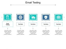 Email Testing Ppt Powerpoint Presentation Outline Demonstration Cpb