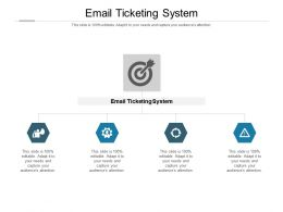 Email Ticketing System Ppt Powerpoint Presentation Gallery Files Cpb
