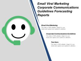 Email Viral Marketing Corporate Communications Guidelines Forecasting Reports Cpb