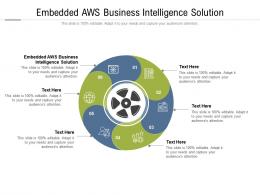 Embedded Aws Business Intelligence Solution Ppt Powerpoint Presentation Cpb