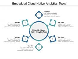 Embedded Cloud Native Analytics Tools Ppt Powerpoint Presentation Inspiration Model Cpb