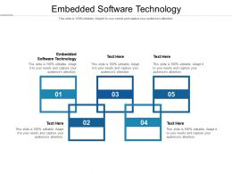 Embedded Software Technology Ppt Powerpoint Presentation Model Themes Cpb