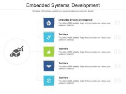 Embedded Systems Development Ppt Powerpoint Presentation Summary Images Cpb