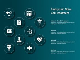 Embryonic Stem Cell Treatment Ppt Powerpoint Presentation Show