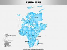 Emea Powerpoint Maps
