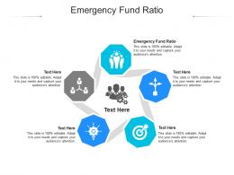 Emergency Fund Ratio Ppt Powerpoint Presentation Icon Images Cpb