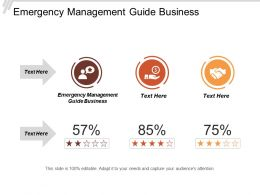Emergency Management Guide Business Ppt Powerpoint Presentation Icon Picture Cpb