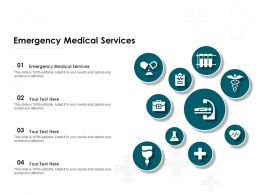 Emergency Medical Services Ppt Powerpoint Presentation Inspiration Files