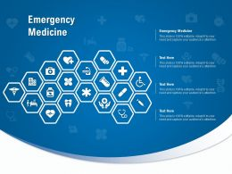 Emergency Medicine Ppt Powerpoint Presentation Ideas Outfit