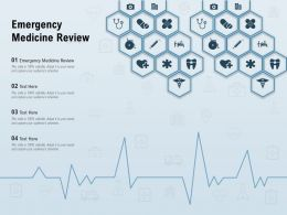 Emergency Medicine Review Ppt Powerpoint Presentation Inspiration Outline