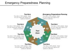 Emergency Preparedness Planning Ppt Powerpoint Presentation Pictures Aids Cpb