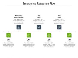 Emergency Response Flow Ppt Powerpoint Presentation Layouts Display Cpb