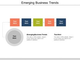 Emerging Business Trends Ppt Powerpoint Presentation Icon Graphics Example Cpb