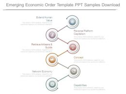Emerging Economic Order Template Ppt Samples Download