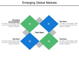 Emerging Global Markets Ppt Powerpoint Presentation Model Examples Cpb