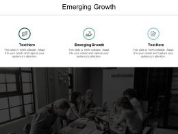 Emerging Growth Ppt Powerpoint Presentation Slides Icons Cpb