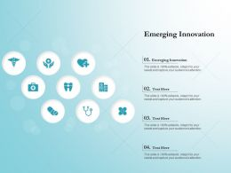 Emerging Innovation Ppt Powerpoint Presentation Inspiration File Formats