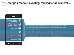 Emerging Market Investing Multinational Transfer Pricing Focus Groups Marketing Cpb