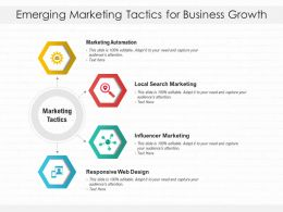 Emerging Marketing Tactics For Business Growth