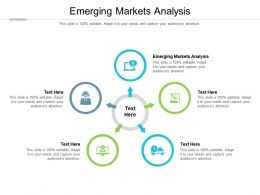 Emerging Markets Analysis Ppt Powerpoint Presentation Model Graphics Design Cpb