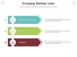 Emerging Markets Index Ppt Powerpoint Presentation Summary Outline Cpb
