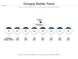 Emerging Markets Trends Ppt Powerpoint Presentation Summary Slide Portrait Cpb