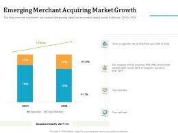 Emerging Merchant Acquiring Market Growth Cross Border Ppt Powerpoint Presentation Outline Slides