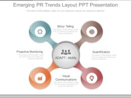 Emerging Pr Trends Layout Ppt Presentation