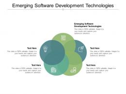 Emerging Software Development Technologies Ppt Powerpoint Presentation File Graphic Images Cpb
