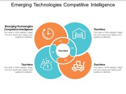 Emerging Technologies Competitive Intelligence Ppt Powerpoint Presentation Styles Inspiration Cpb