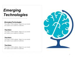 Emerging Technologies Ppt Powerpoint Presentation Styles Guidelines Cpb