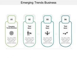 Emerging Trends Business Ppt Powerpoint Presentation Examples Cpb