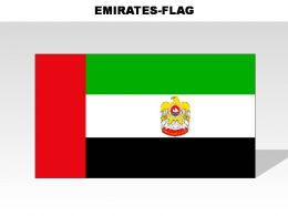 Emirates Country Powerpoint Flags